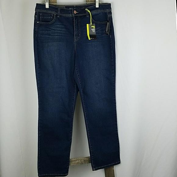 f21bb220a673b Style   Co women plus size 16 blue Asrtor jeans